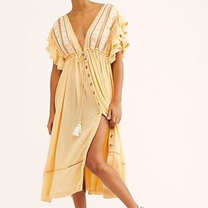 Free People Dresses - FREE PEOPLE Bali Will Wait For You Midi Dress